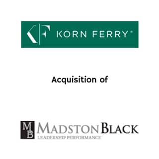 Korn Ferry Madston Black