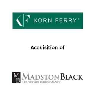 Korn Ferry Madston黑色
