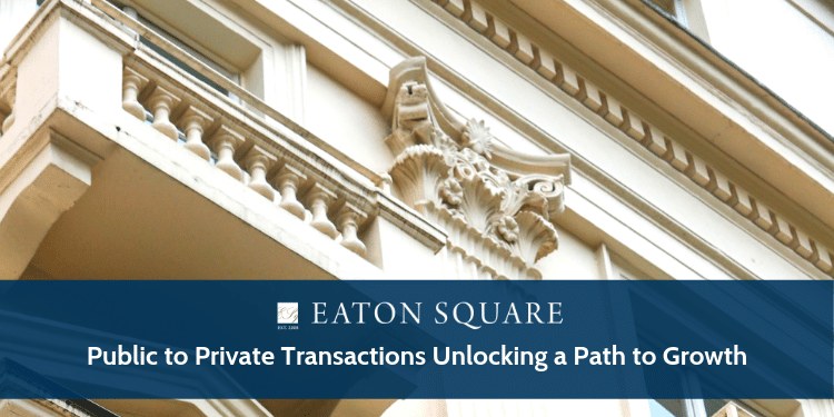 Public to Private Transactions