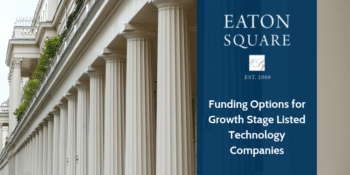 Funding Options for Growth Stage Listed Technology Companies