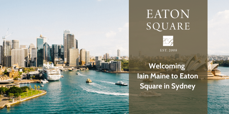 Iain Maine Joins Eaton Square