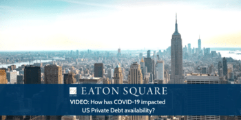 How has COVID-19 impacted US Private Debt availability?