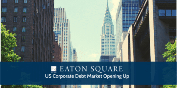 US Corporate Debt Market Opening Up