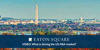 What is driving the US M&A market