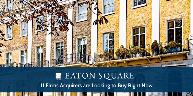 11 Firms Acquirers Are Looking To Buy