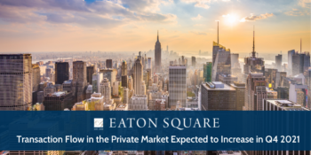 Transaction Flow in the Private Market Expected to Increase in Q4 2021